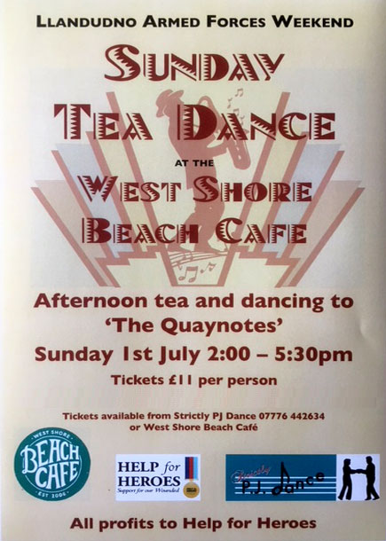 Sunday Tea Dance Llandudno